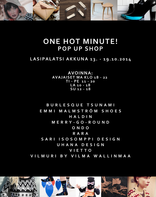 OneHotMinute!_pop_up_shop