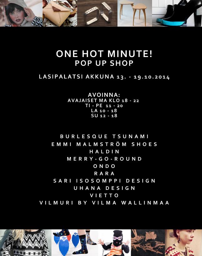 OneHotMinute!_pop_up_shop