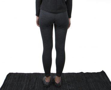 Vietto merino wool leggings grey