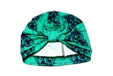 Vietto turban beanie turquoise-navy